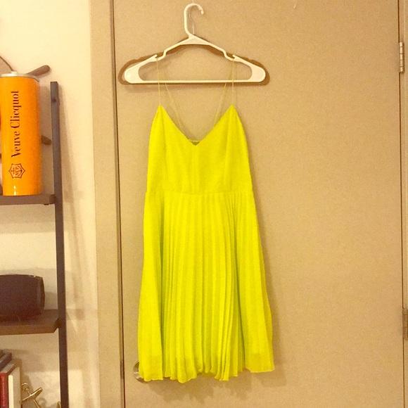 ASOS Dresses & Skirts - ASOS bright yellow cocktail dress